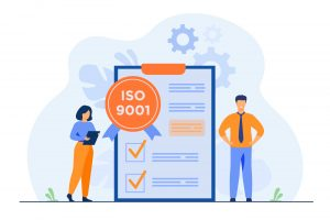 Quality keeps Improving ISO 9001