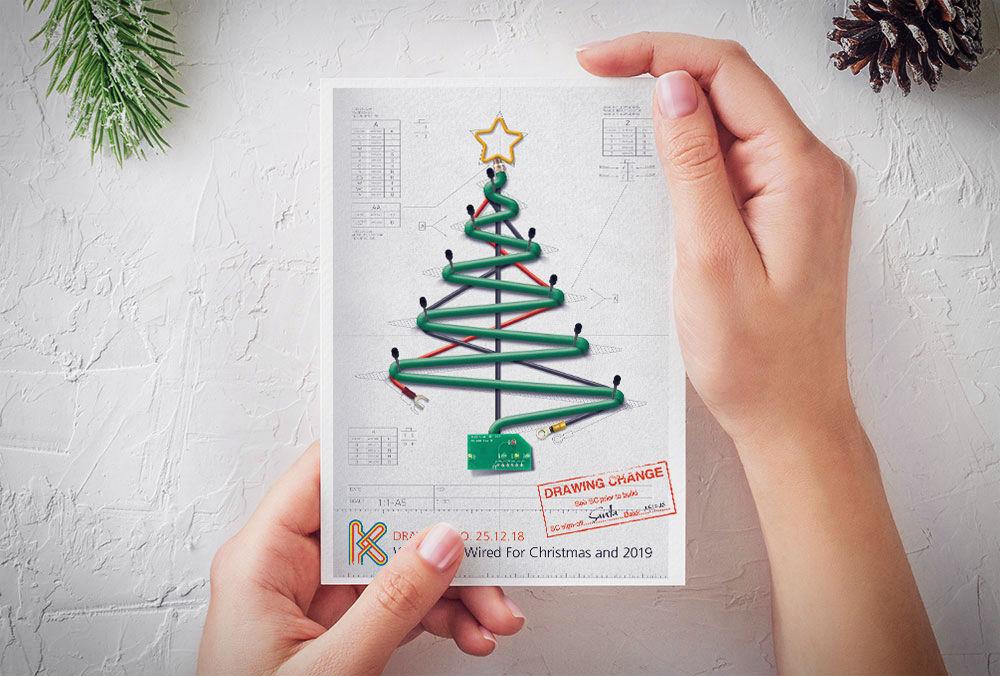 WH Kemp Christmas Card 2019